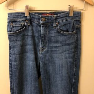 7 for All Mankind Ginger Jeans Size 27 Stretch